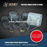China thin wall mould for dishware