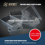 take away thin wall mould for dishware