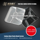 thin wall mould for dishware solution