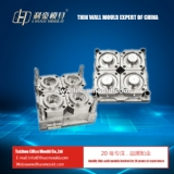 4 cavities high speed PP thin wall  mould