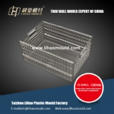 Thin wall transparent box mould
